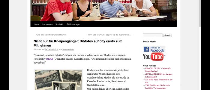 Bibfotos ORKA Digitale Sammlungen