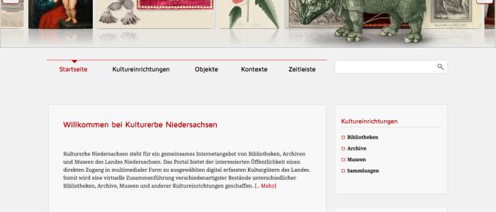 Projekt Kulturerbe Niedersachsen
