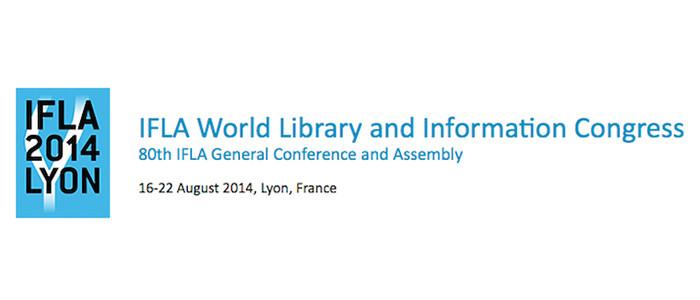 News Goobi auf der IFLA 2014 in Lyon