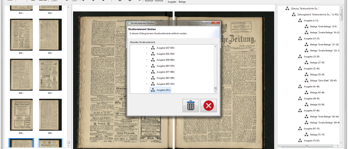 Zeitungsdigitalisierung mit Goobi und UCC
