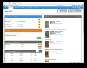 Goobi Production 2.1 Erweitertes Plugin für das Goobi Dashboard