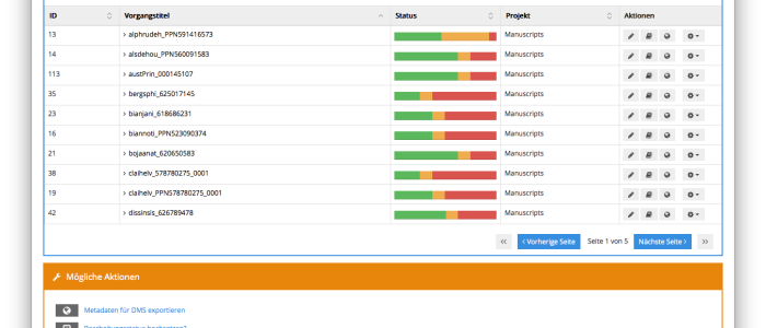 Mit Goobi den Überblick über viele Workflows in Digitalisierungsprojekten behalten