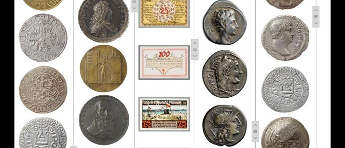 Das Kenom Münzportal ist online