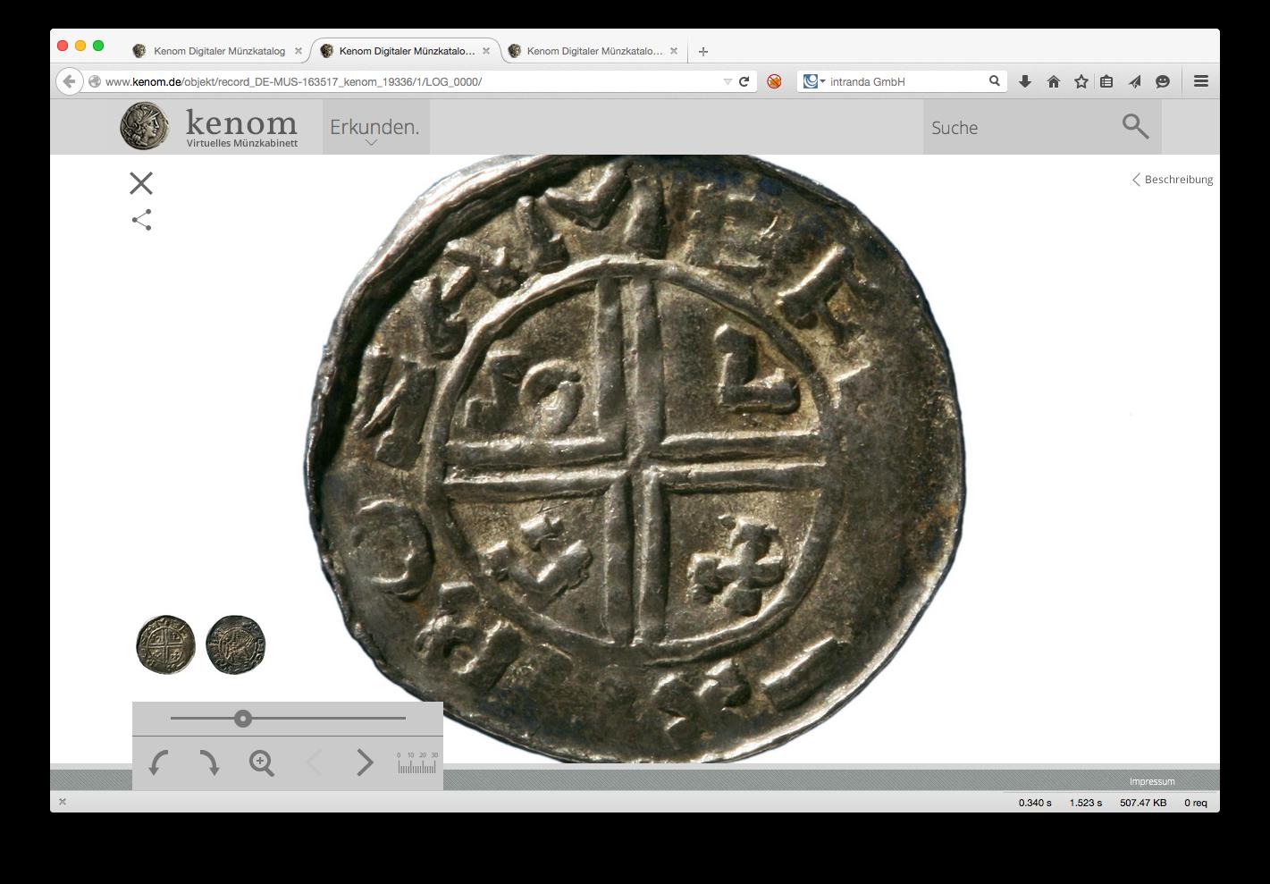Ab ca. 750 führten die Karolinger die Pfennige als einheitliches Zahlungsmittel aus Silber ein.
