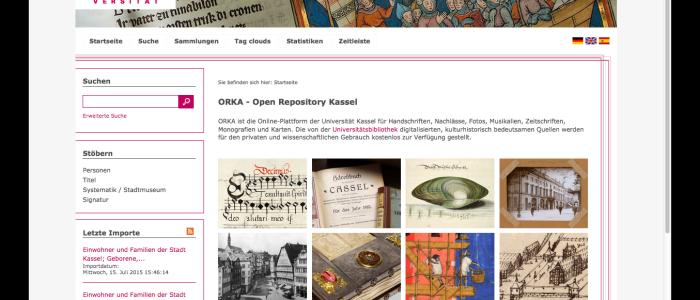 Goobi und intranda viewer an der Universitätsbibliothek Kassel