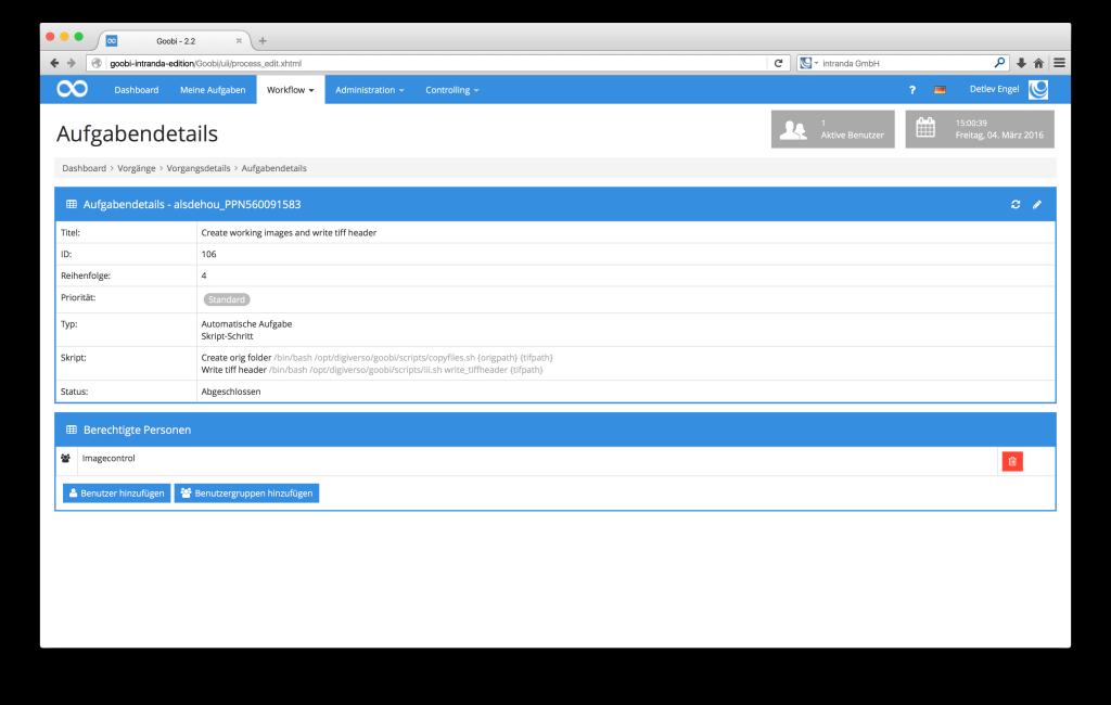 Steuerung von Workflows in Digitalisierungsprojekten - Goobi 2.2: Konsistente Variablen-Nutzung an allen Stellen in Goobi.Production