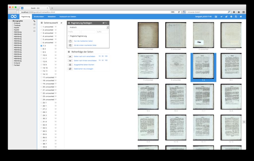 Goobi 3.0 - Leichtere Arbeit mit den Thumbnails