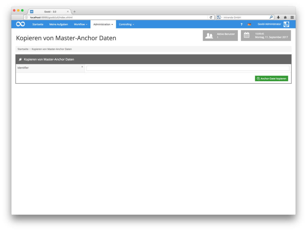 Goobi 3.0 - Master-Anchor Plugin