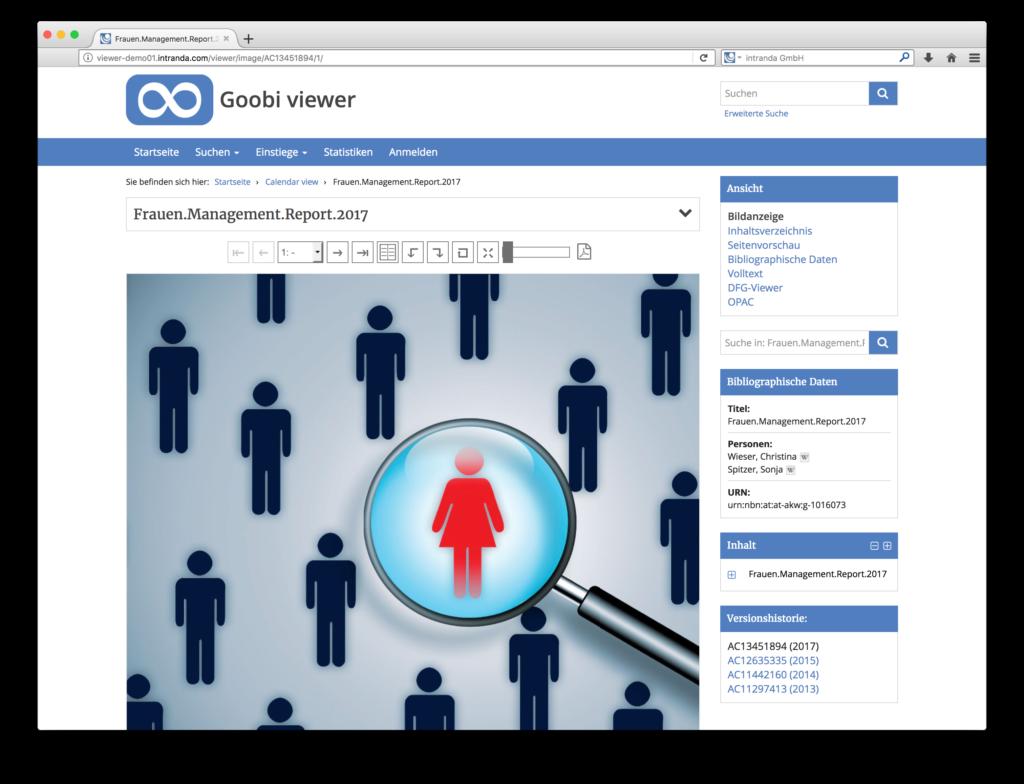 Goobi viewer 3.2 - Versionierung der veröffentlichten Digitalisate