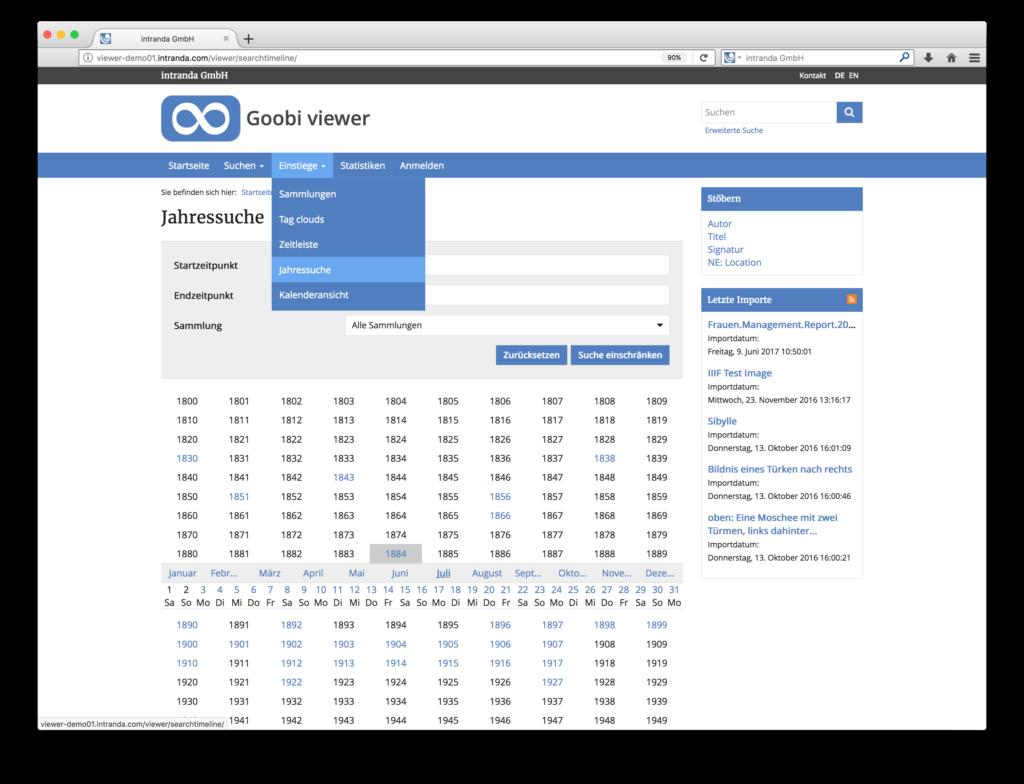 Goobi viewer 3.2 - Optimierte Suchformulare